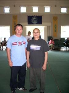 With Grand Master Sam Tam